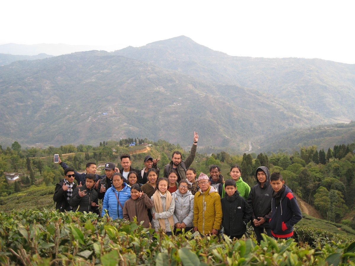 Ausflug auf eine Teeplantage in Ilam