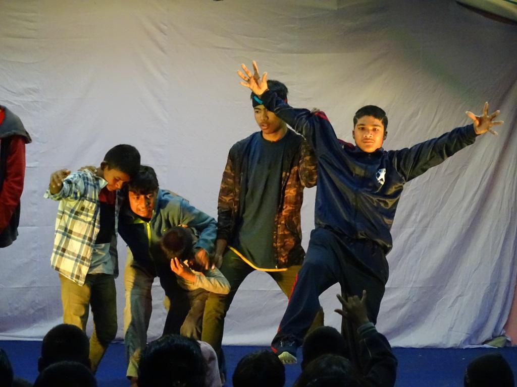 Aufführung Import-Theater