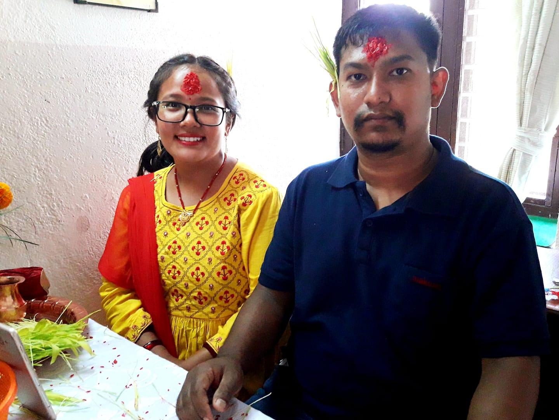 Sunita und Krishna