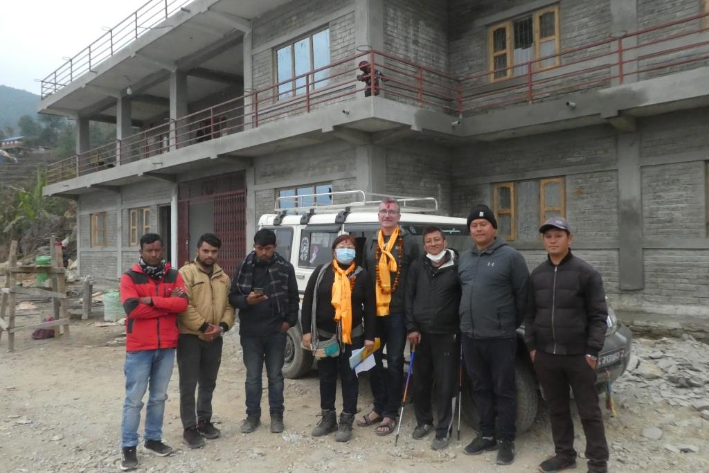 Besuch des Gemeindehospitals