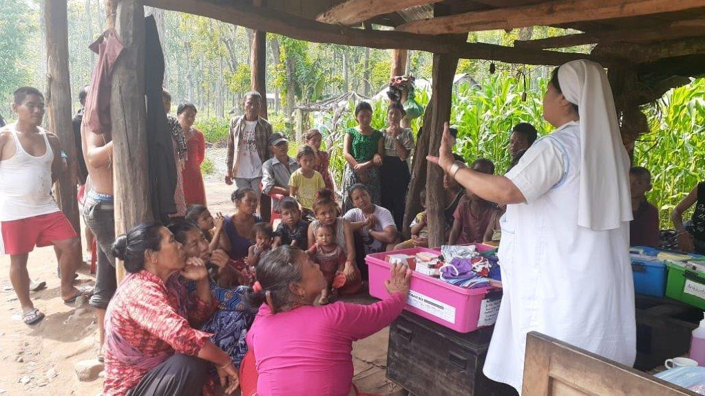 Nahrungsmittel-Camp Chitwan